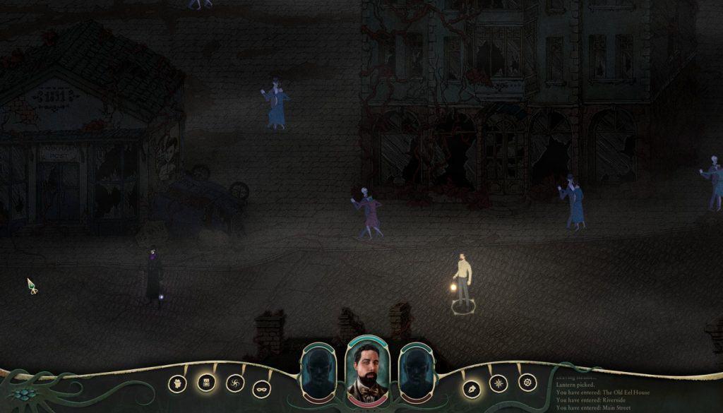 stygian ghosts dancing in street