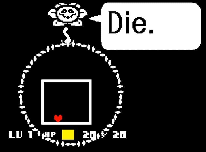 hateful flower undertale