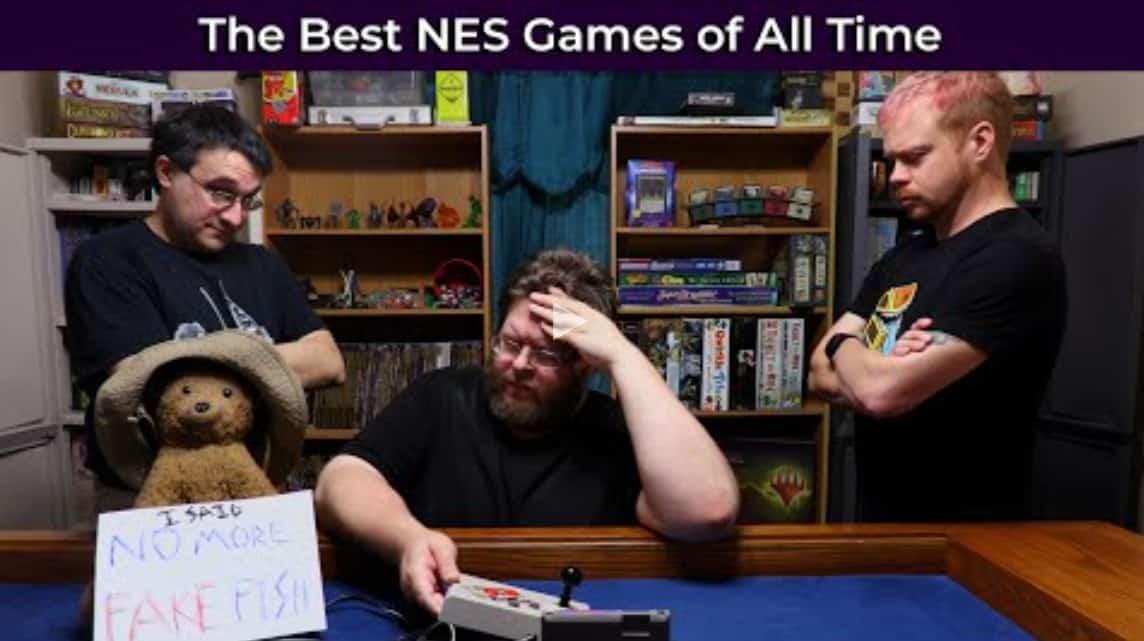 gamers shaming NES gamer