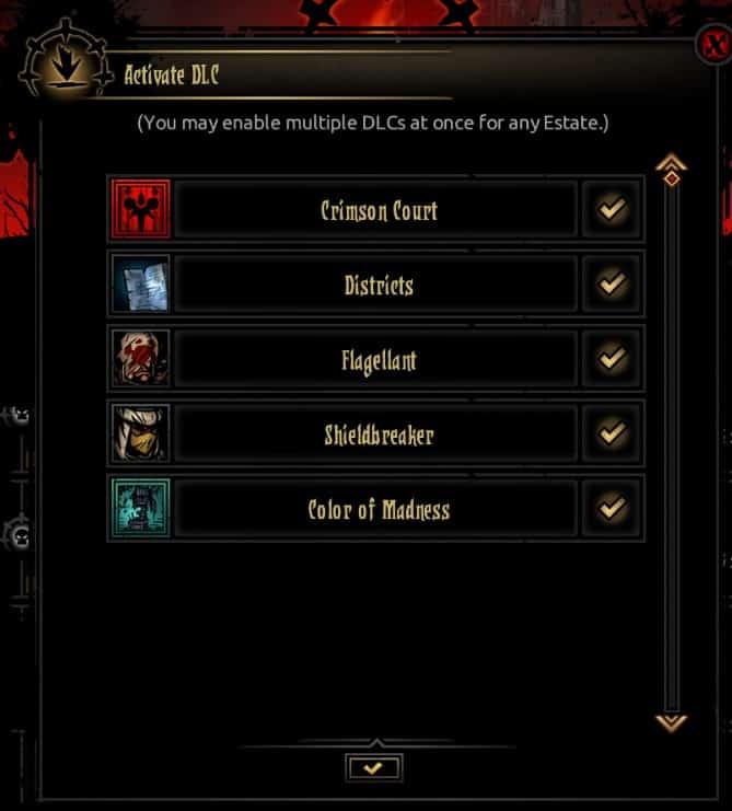 Darkest Dungeon DLC screenshot