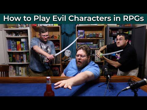 evil PCs killing PC RPG