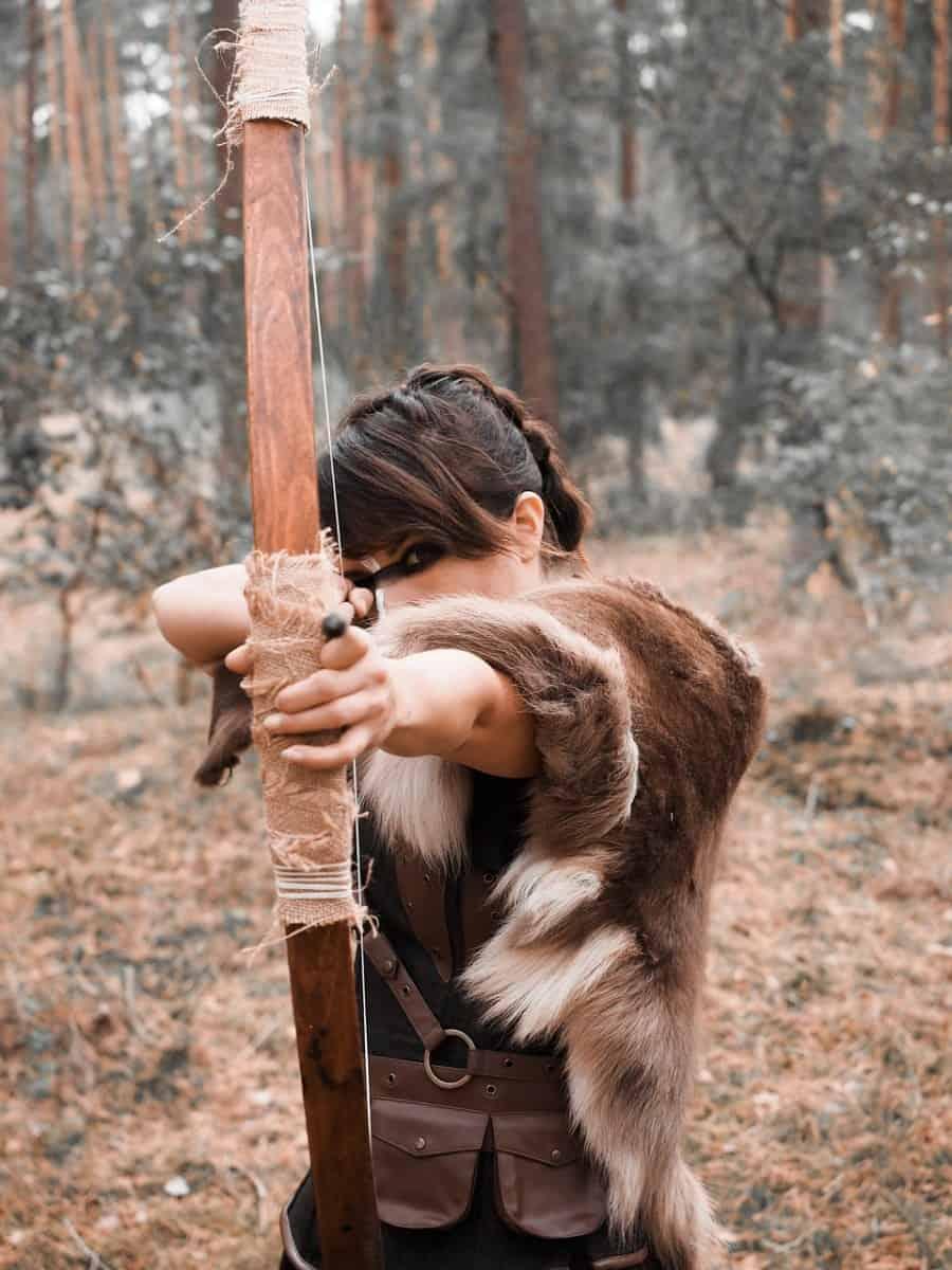 female sharpshooter archer warrior
