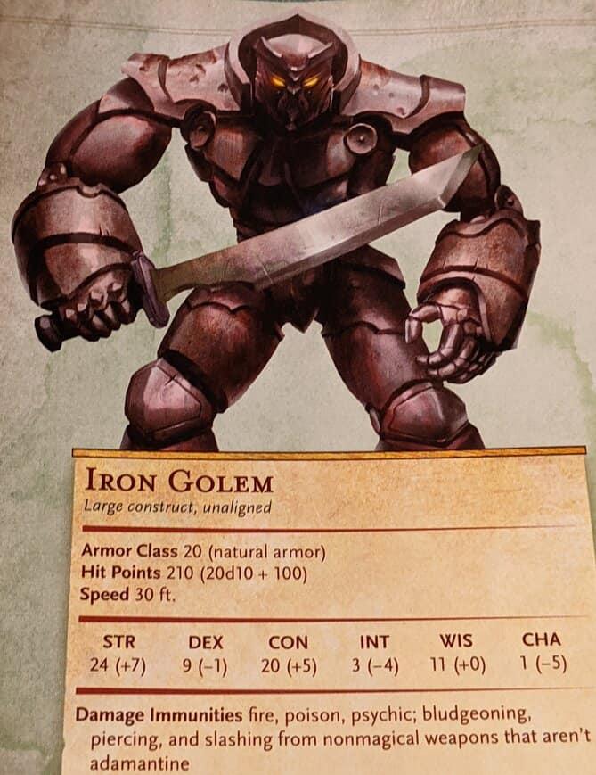 Iron Golem 5E
