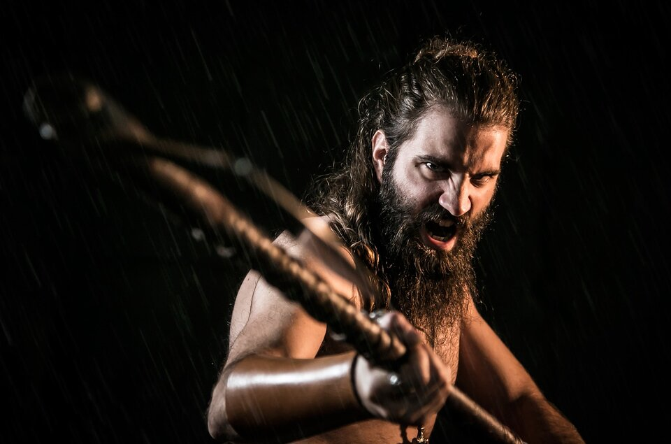 viking axman great weapon master