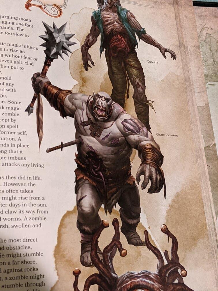 zombie ogre 5E zogre